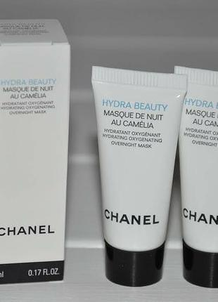Ночная маска для лица chanel hydra beauty masque de nuit au camelia (миниатюры)