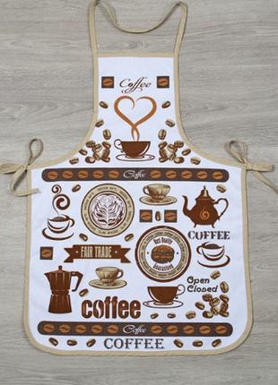 Фартук прорезиненный style кофе