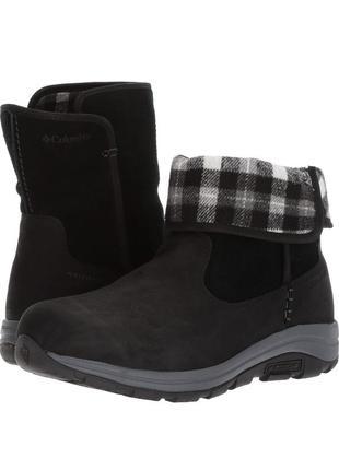 Зимние кожаные ботинки columbia bangor 47/48р оригинал