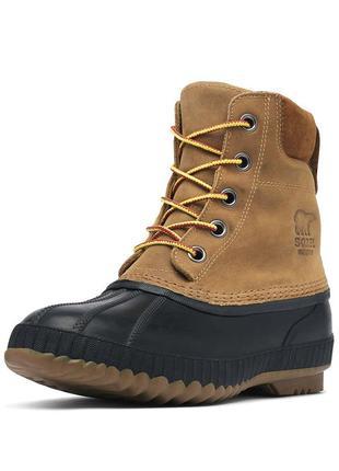 Зимние кожаные ботинки t-32'c sorel 44/45р оригинал сапоги