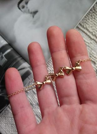Набор украшений цепочка минимализм + серьги пусеты-гвоздики