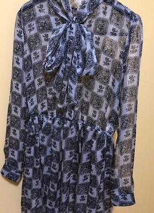 Шелковое платье от  dolce gabbana,р.40