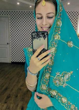 Сари, индийское платье, восточный костюм, костюм на хэллоуин
