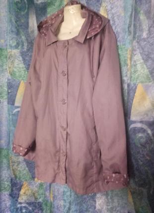 Куртка ветровка легкая большой размер