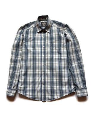 Рубашка в клетку с длинным рукавом h&m