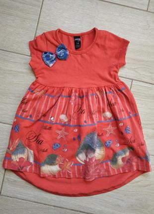 Платье на девочку на 1-2 года