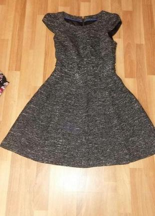 Платья бэби долл,теплое,размер с
