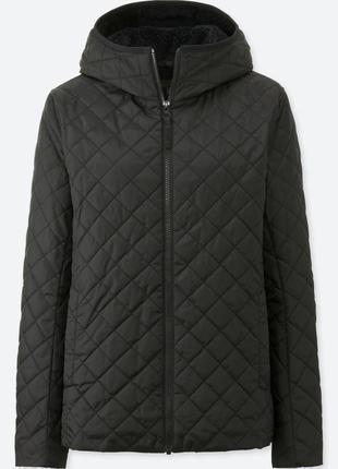 Женская куртка на флисе!!uniqlo