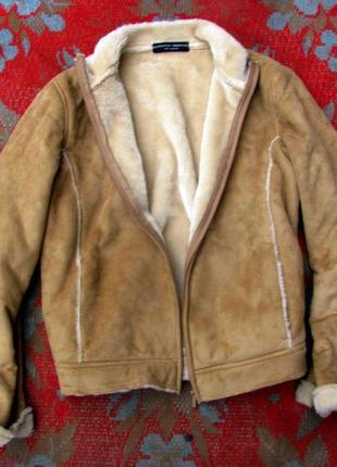 Куртка дублянка дубльонка тепла