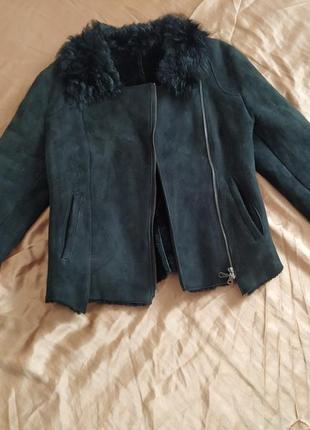 Короткая куртка-дубленка-косуха