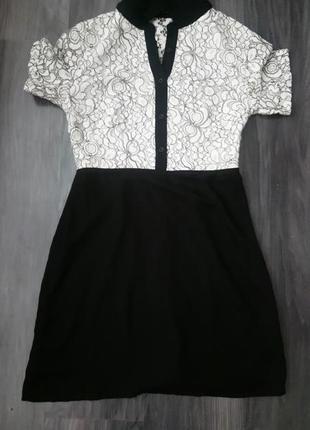 Платье с ирландским кружевом