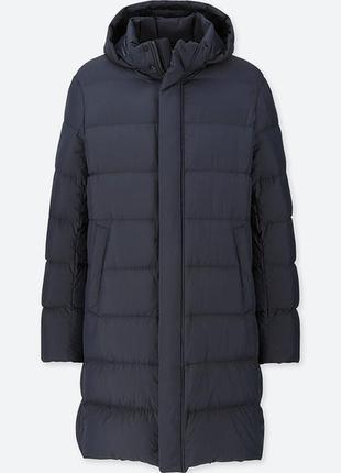Ультралегкое пальто-пуховик uniqlo, размер с, м, л 100% оригинал