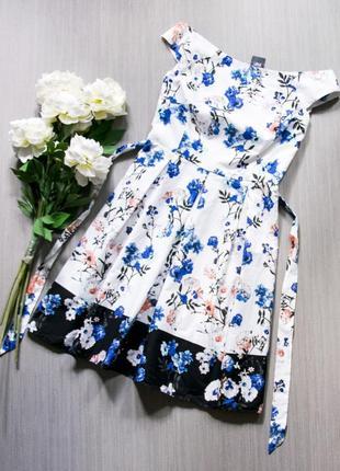 Красивое котоновое платье f&f