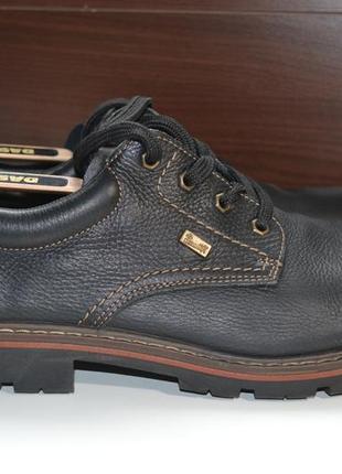 Rieker antistress 45р ботинки полуботинки кожаные оригинал