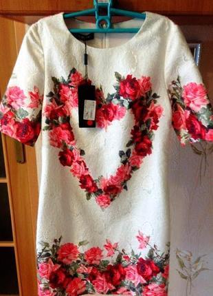 Любимое  платье 🌹🌹🌹# нарядное платье с цветочным принтом в розы