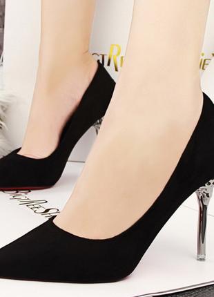 Туфли женские с красной подошвой