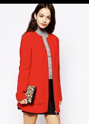 Шикарне шерстяне пальто new look