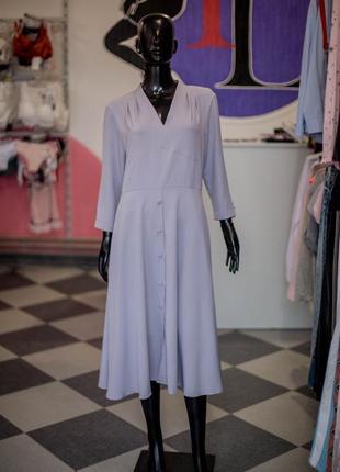Обалденное платье в стиле ретро с пуговицами от wear me