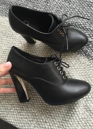 Ботиночки на каблуке