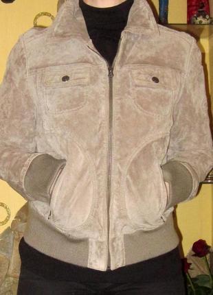 Замшевая куртка немецкого бренда tom tailor,раз 42