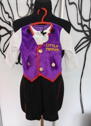 Карнавальный, костюм на хеллоуин вампирчик, воришка