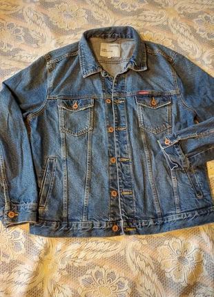 Супер классная джинсовая куртка colin's