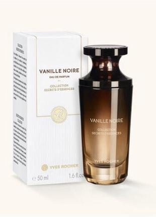 """Хит !парфюмированная вода """"vanille noire"""" 50 мл черная ваниль ив роше,новая,в слюде"""