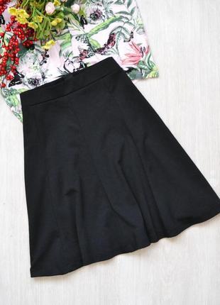 Расклешенная базовая юбка h&m