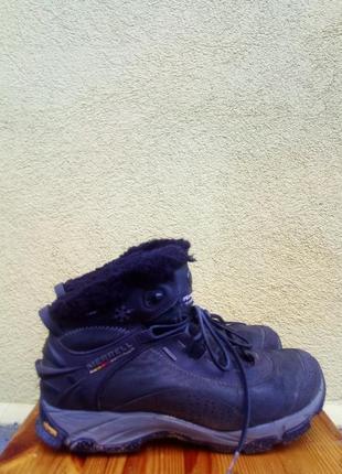 Зимние треккинговые ботинки merrell