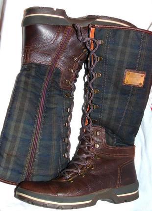 Tommy hilfiger шикарные высокие зимние сапоги - 40 размер