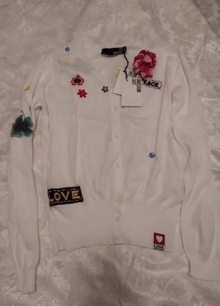 Блуза накидка love moschi оригинал