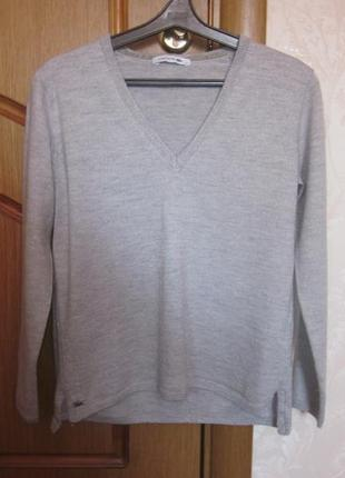Фирменный свитер lacoste размер xs-s lacoste