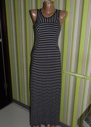 Платье полоска с пол - monteau s - мехико