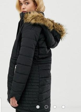 Пальто курточка с капюшоном от vero moda
