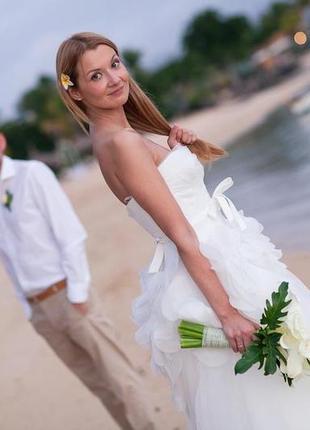 Свадебное платье мирового бренда vera wang