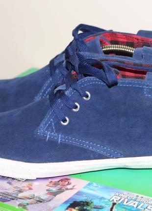 Стильные замшевые ботинки, кеды akira into the wild 42 разм