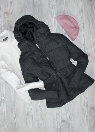 Стильная куртка с шерстью h&m (осень зима)