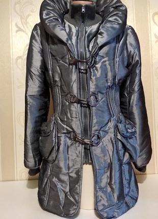 Удлиненная куртка, осень.