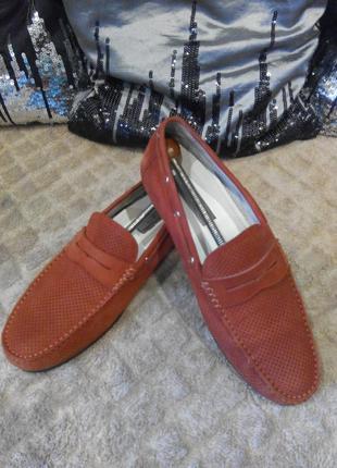 Туфли  мокасины  лоферы  топсайдеры  antonio biaggi
