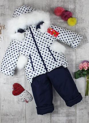 Классные, стильные детские зимние комбинезоны для девочки.