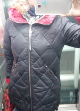 Зимняя двусторонняя куртка