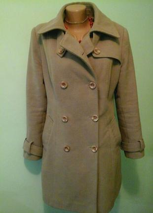 Кашемировое пальто barak, синтепон