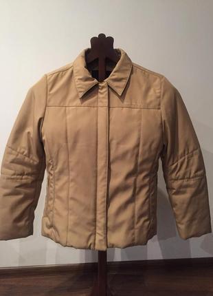 Бежевая куртка tom tailor