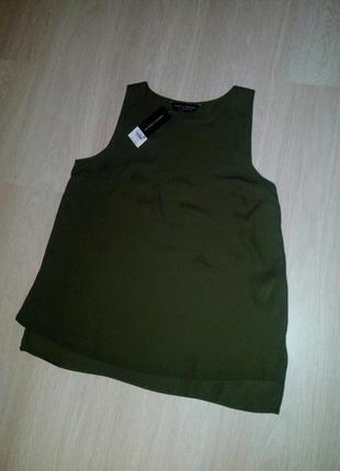 Блуза хаки dorothy perkins