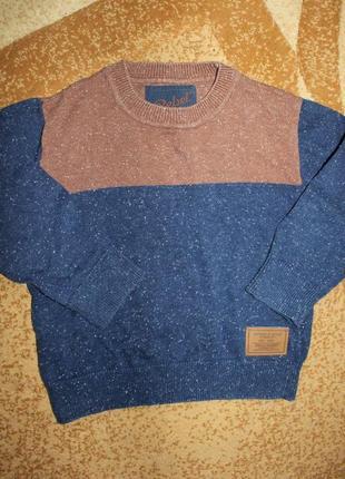 Кофта свитер реглан rebel на 2-3 года