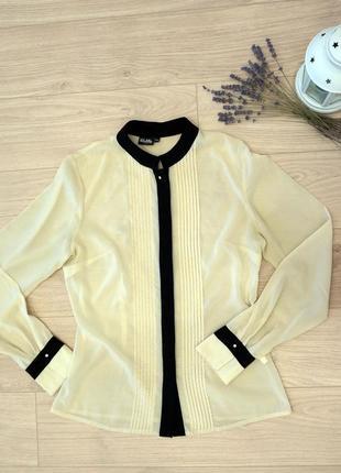 Легкая классическая блуза, рубашка