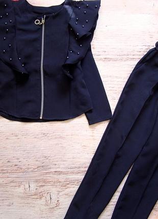 Костюм 2-ка. жакет  брюки