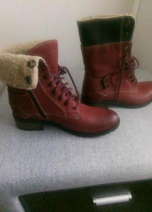 Зимние женские ботинки.