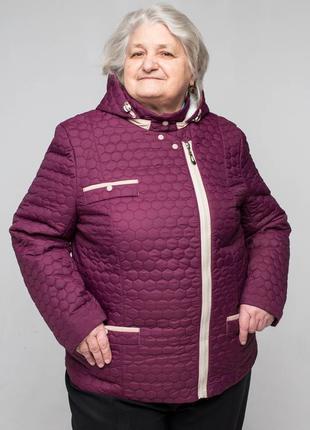Женская куртка осенняя| батал| большие размеры| демисезонная