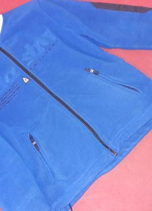Спортивная флисовая куртка